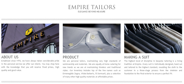 The Empire Tailors